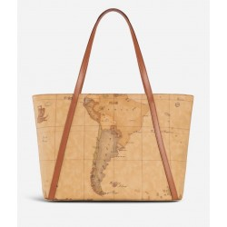 Geo Classic Shopping bag con borchiette grande